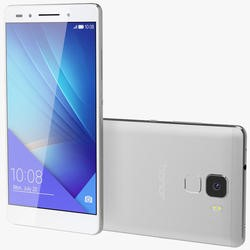 "Huawei Honor 7 Silver 5.2"" 16GB 4G Unlocked & SIM Free"