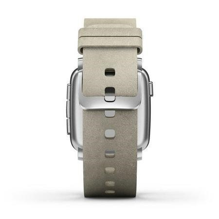 Pebble Time Steel Smartwatch Silver