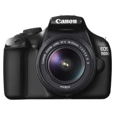 Canon EOS 1100D Kit 3 inc 18-55mm Non IS Lens with Bag and Adobe Lightroom