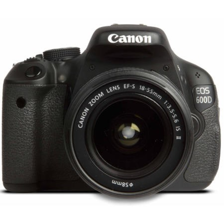 Canon EOS 600D Digital SLR Camera with EF-S 18-55mm and 55-250mm