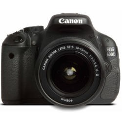 Canon EOS 600D Digital SLR Camera with EF-S 18-55mm