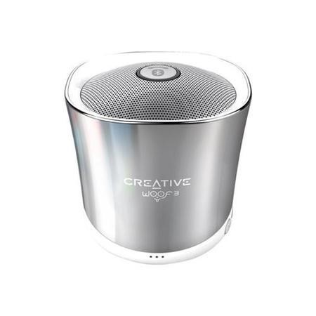 51MF8230AA000 Creative Woof 3 Bluetooth Speaker in Winter Chrome