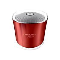 Creative Woof 3 Wireless Speaker in Rouge Red