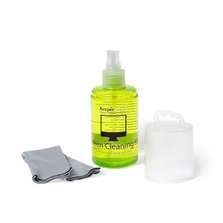 Keepit Clean Anti-bacterial Spray And Cloth Cleaning Kit for MacBook