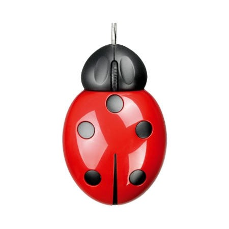 Pat Says Now Ladybug USB Mouse