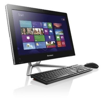 "Lenovo C540 23"" Pentium Dual Core G2020 4GB 500GB DVDRW Black Windows 8 All In One Desktop"