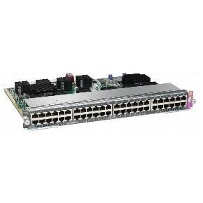 Cisco Line Card Premium PoE - expansion module - 48 ports