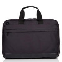 "Knomo 15"" Turin Laptop Briefcase - Black"