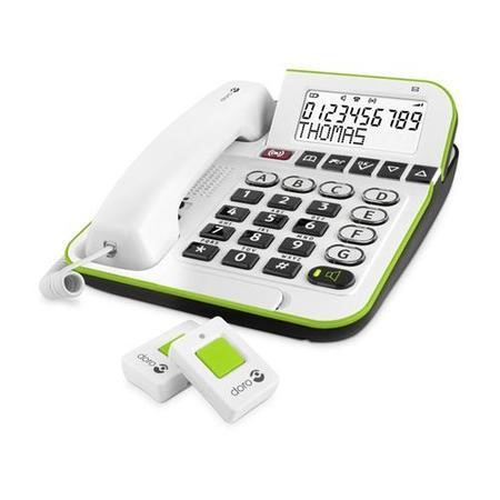 Doro Secure 350 Corded Telephone - White