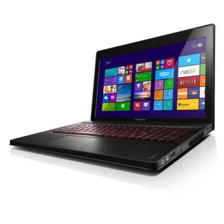 Refurbished Grade A2 Lenovo Y510P 4th Gen Core i7 12GB 1TB Windows 8.1 Gaming Laptop in Metal