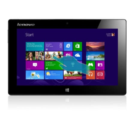 Refurbished Grade A1 Lenovo IdeaTab Miix 10 Tablet in Silver