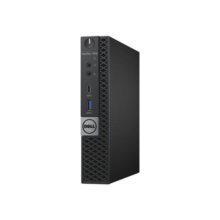 Dell OptiPlex 7050 MFF Core i5-7500T 8GB 256GB SSD Windows 10 Pro Desktop PC