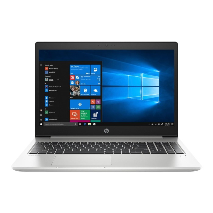 Hewlett Packard HP ProBook 450 G6 Core i5 8265U 8GB 256GB SSD 15 6 Inch  WIndows 10 Pro Laptop