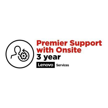 Lenovo 3 Year Premier Support with Onsite Warranty