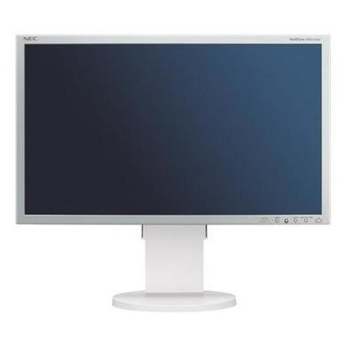 "NEC EA243WM 24"" LED 1920X1200 White Monitor"
