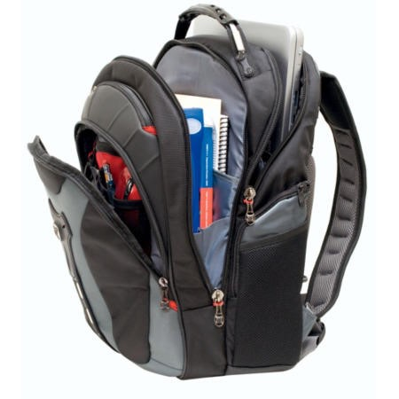 "Wenger Swissgear Pegasus Backpack for Laptops up to 17.3"" - Blue/Black"