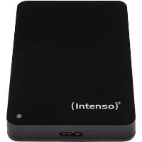"Intenso 1TB 2.5"" USB 3.0 External Hard Drive in Black"