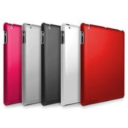 MicroShell Case for iPad 2/3/4 - Red