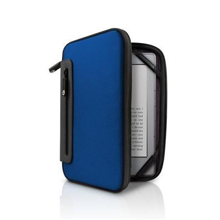 Jurni Nylon Case  for Kindle & Kindle Touch - Blue/Grey