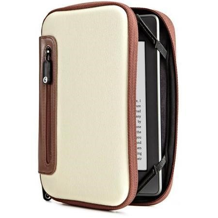 Jurni Nylon Case  for Kindle & Kindle Touch - Beige/Brown
