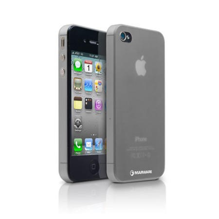 Membrane for iPhone 4 & iPhone 4S - Smoke