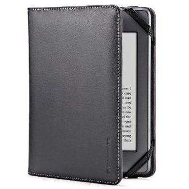 EcoVue Leather Case for Kindle & Kindle Touch - Black
