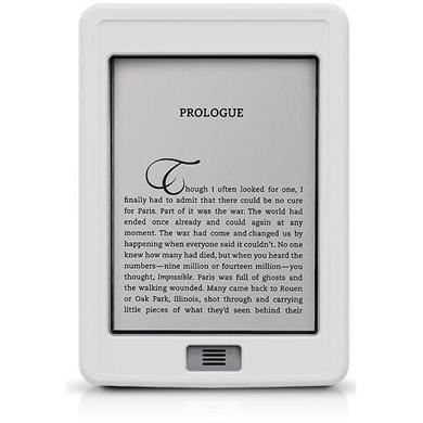 SportGrip Silicone Case for Kindle Touch - White
