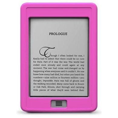 SportGrip Silicone Case for Kindle Touch - Pink