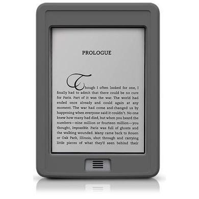 SportGrip Silicone Case for Kindle Touch - Grey
