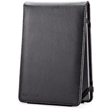 EcoFlip Leather Case for Kindle & Kindle Touch - Black