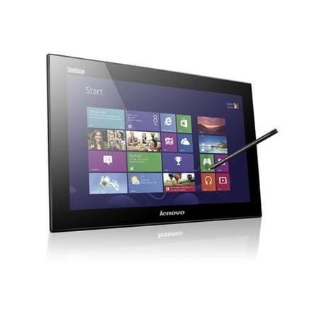 "Lenovo ThinkVision LT1423p Wireless - LED monitor - 13.3"" - portable - Multi-Touch - 1600 x 900 - AH-IPS - 200 cd/m2 - 500_1 - 35 ms - USB - raven black"