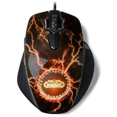 SteelSeries World Warcraft Legendary MMO Gaming Mouse
