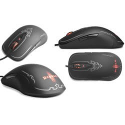 SteelSeries Diablo III USB Gaming Mouse - Black