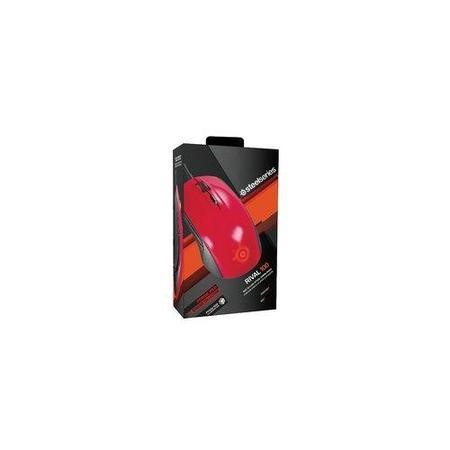 SteelSeries Rival 100 Optical Gaming Mouse Forged Red