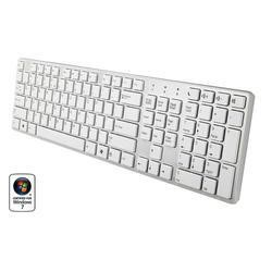 Emprex Slim USB Desktop Keyboard - White