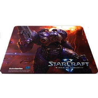 SteelSeries QcK Limited Edition StarCraft II Tychus Findlay Mousepad with Gaming Surface