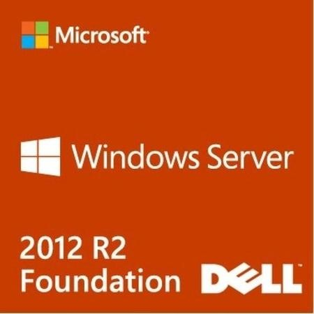 Dell Windows Server 2012 R2 Foundation English 15 Users 1 CPU OEM ROK