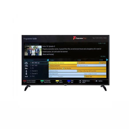 Finlux 65 Inch 4K Ultra HD Smart LED TV with Freeview Play and Freeview HD plus DTS TruSurround