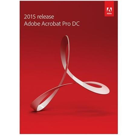 Adobe S & L Acrobat Pro DC 2015 Windows EU English Commercial Electronic Software Download 1 User
