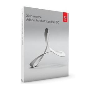 Adobe Acrobat Standard DC 2015 Windows English Commercial 1 User