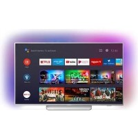 Refurbished Philips Ambilight 65'' 4K Ultra HD with HDR10+ LED Freeview HD Smart TV without Stand