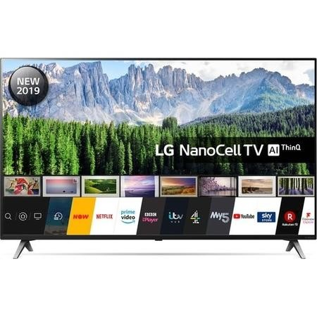 "LG 65SM8500PLA 65"" 4K Ultra HD Smart HDR NanoCell LED TV with Dolby Vision and Dolby Atmos"