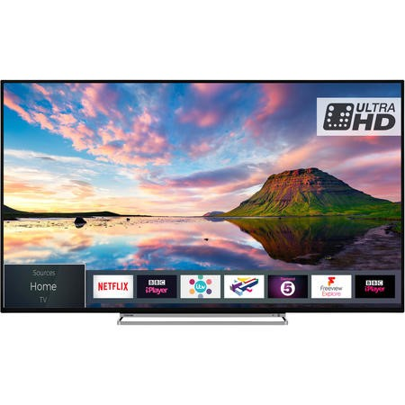 "65U5863DB Toshiba 65U5863DB 65"" 4K Ultra HD Dolby Vision HDR LED Smart TV with Freeview HD"