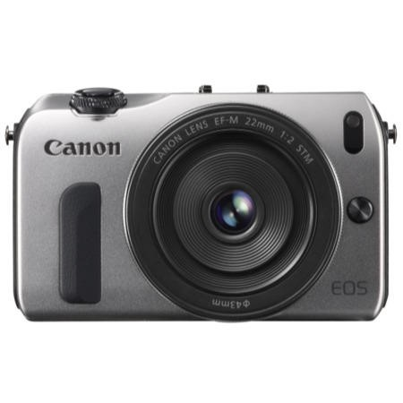 Canon EOS M 18MP Digital SLR Camera with EF-M 18-55MM