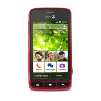 "Doro Liberto 820 Mini Ruby 4"" 4GB 3G Unlocked & SIM Free"
