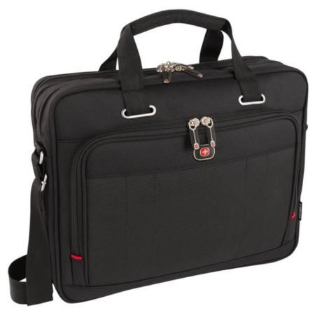 "Acquisition 16"" Laptop Briefcase with Tablet / eReader Pocket"