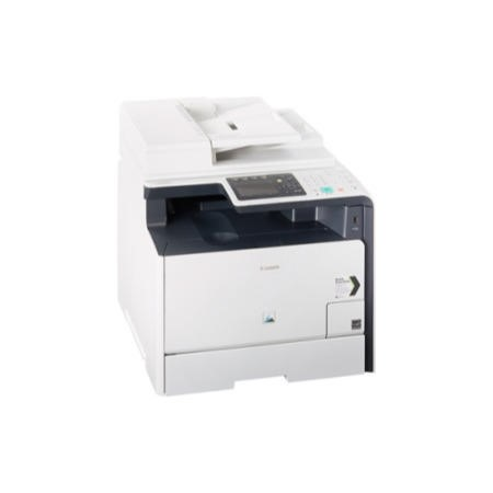"Canon i-Sensys MF8550Cdn Colour Laser Printer - mfp Auto duplex colour network print copy scan and fax Network ready with PCL 5c/6 support Apple AirPrint"" and Google Cloud Print 20 ppm mono and c"