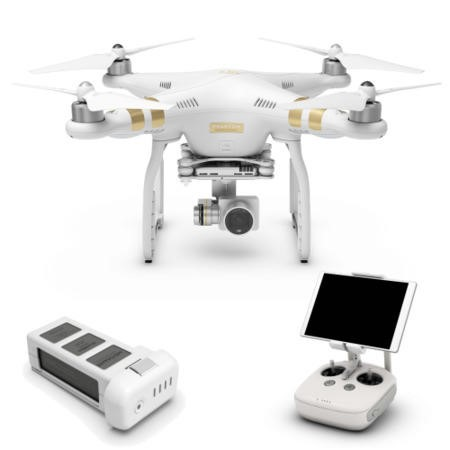 77469304/1/6958265117381 GRADE A1 - DJI Phantom 3 Professional 4K Drone with Free Hard Shell Backpack