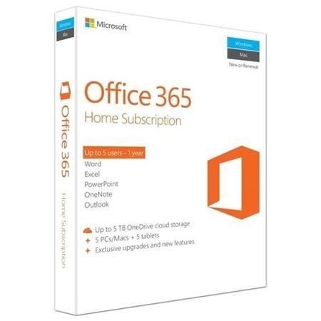 6GQ-00684 Microsoft Office 365 Home Premium - 5 users 12 month license