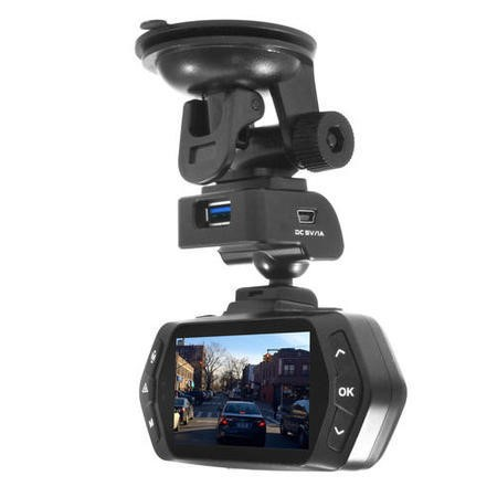 GRADE A1 - As new but box opened - electriQ 2K Dash Cam 160 Degree Wide Angle View Ambarella Nightvision and 2.7 Inch  Screen